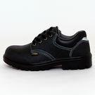 男款 素色綁帶塑膠鋼頭安全鞋 塑鋼鞋 工...