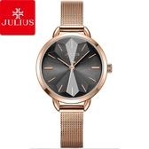 JULIUS 聚利時 星辰之戀米蘭錶帶腕錶-氣質灰/30mm【JA-1128B】
