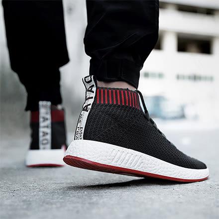 [現貨] 潮流慢跑鞋網布側邊塊狀襪型運動休閒鞋 飛織編織鞋懶人襪套鞋【QZZZ6357】