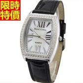 鑽錶-與眾不同流行高檔女手錶3色5j118[巴黎精品]