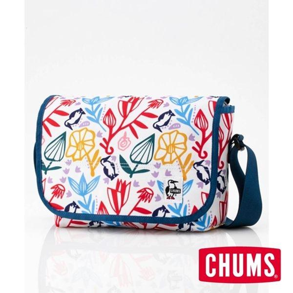 CHUMS Eco Flap 迷你肩背包 印花/花園 CH602477Z110【GO WILD】