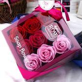 永生玫瑰花結婚回禮禮品生日母親 情人節 教師節禮物永生玫瑰 9朵方盒天長地久熱賣夯款
