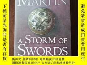 二手書博民逛書店A罕見Storm of Swords: Blood and Go