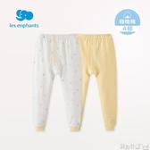 嬰兒內衣 嬰兒衣服寶寶內衣下裝兒童精梳棉開襟內衣褲2條裝春新 寶貝計畫