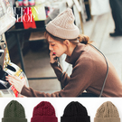 Queen Shop【07020570】編織麻花毛線帽 四色售*現+預*
