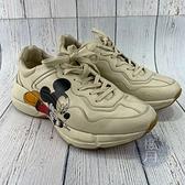 BRAND楓月 GUCCI 古馳 米奇 迪士尼聯名 米老鼠 男鞋 厚底鞋 老爹鞋 休閒鞋 潮流 時尚元素 #9