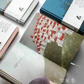 筆記本子韓國日記本創意小清新可愛彩頁插畫簡約手繪手賬本記事本 盯目家