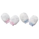 Baby City 娃娃城 天絲棉手套-玩具熊(藍色/粉色)BB80018201[衛立兒生活館]