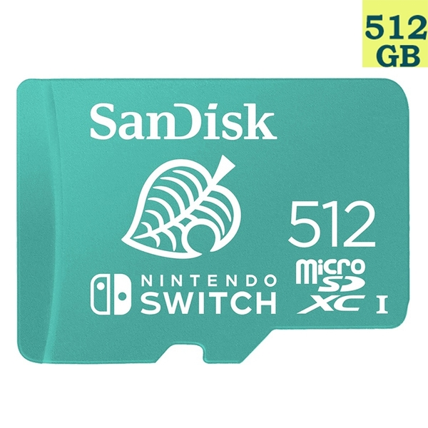 【免運】SanDisk 512GB 512G microSDXC【Nintendo SWITCH】microSD SD SDXC 100MB/s U3 SDSQXAO-512G 任天堂記憶卡