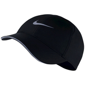 NIKE配件系列-DRY AROBILL FTHLT CAP RUN 黑色棒球帽-NO.AR2028010