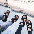 Free Shop 男女情侶款休閒沙灘拖...
