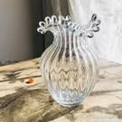 歐式美式創意花瓶擺件客廳插花北歐簡約花瓶玻璃透明水養百合玫瑰NMS【名購新品】