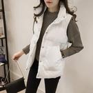 2020年新款女士馬甲女短款韓版秋冬羽絨棉服背心面包服馬夾外套女 安雅家居館