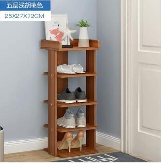特賣藤巢居家木制多層鞋架經濟型實木鞋櫃簡易家用木板鞋架簡約現代置LX