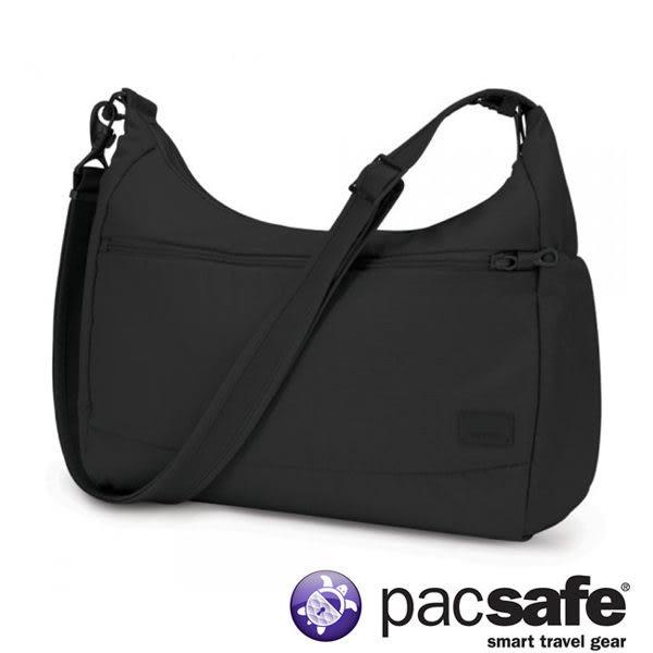 Pacsafe Citysafe CS200 休閒斜肩包-黑 側背包 旅遊 出國 防盜 20225100
