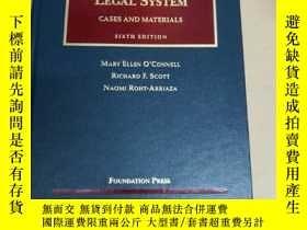 二手書博民逛書店The罕見International Legal System: