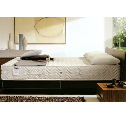 美國Orthomatic[Luxury Firm]6x6.2尺雙人加大獨立筒床墊, 送床包式保潔墊