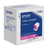 S050748 EPSON 原廠標準容量紅色碳粉匣 適用  C300N/C300DN