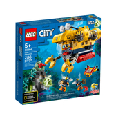 60264【LEGO 樂高積木】城市系列 City-海洋探索潛水艇 (286pcs)