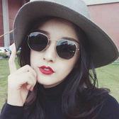 墨鏡/太陽眼鏡 小方形太陽鏡圓臉顯瘦防紫外線優雅歐美個性墨鏡 巴黎春天