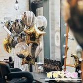 雲紋大理石紋瑪瑙紋乳膠加厚生日氣球派對布置結婚房婚禮裝飾氣球