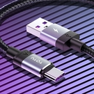 TOTU Type-C充電線閃充線快充線傳輸線編織線 QC4.0 5A快充 極速系列 300cm