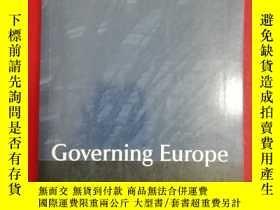 二手書博民逛書店Governing罕見Europe (治理歐洲)研究文集Y147