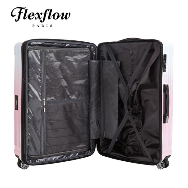 Flexflow 公主色票 29吋 智能測重 可擴充拉鍊  防爆拉鍊旅行箱 里爾系列 29吋行李箱 【官方直營】