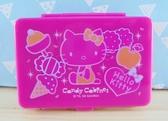 【震撼  】Hello Kitty 凱蒂貓KITTY 飾品盒附鏡桃冰淇淋
