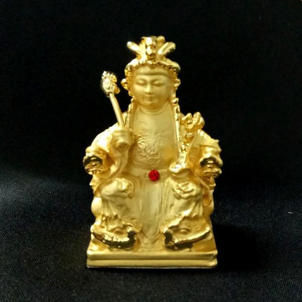 瑤池金母 5.7公分 佛像法像-金色