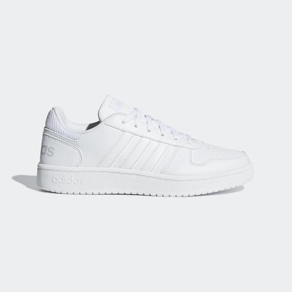 Adidas NEO Hoops 2.0 [B42096] 女鞋 運動 休閒 慢跑 路跑 健身 基本 穿搭 愛迪達 白