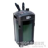 魚缸過濾桶cf1200水族箱魚缸過濾器靜音外置濾筒新cf600cf800 1995生活雜貨