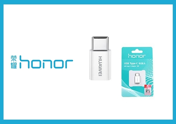榮耀honor 原廠Micro USB 轉 Type-C 轉接頭 (吊卡裝)