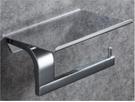 【 麗室衛浴】 國產 8005不鏽鋼 置物板式單捲衛生紙架 鉻色