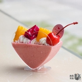 布丁杯 愛心形慕斯杯布丁杯心形果凍杯提拉米蘇杯甜點杯甜品杯塑料一次性