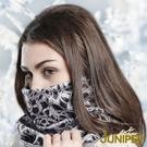 保暖套頭帽子-男女雙面防寒印花加絨保暖滑雪套頭護脖帽J3647 JUNIPER