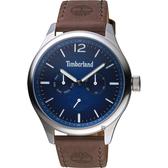 Timberland 天柏嵐 玩酷時尚日曆小秒針手錶-46mm TBL.15940JS/03