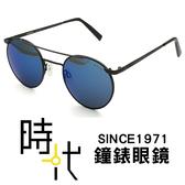 【台南 時代眼鏡 RANDOLPH】墨鏡太陽眼鏡 PB010 49 霧黑 藍水銀AR 純正美國血統 軍規認證 48mm
