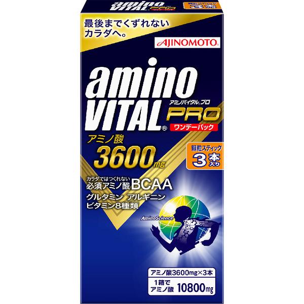 【日本味之素 原裝進口】amino VITAL 專業級胺基酸粉末【3包入】
