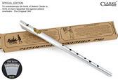 小叮噹的店- 錫笛 錫口笛 紀念款 傳統型 英國Clarke 愛爾蘭錫哨 附羊皮套
