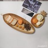 INS簡約北歐零食糖果盤客廳家居餐桌收納盤創意金色托盤裝飾擺件 qf25220【夢幻家居】