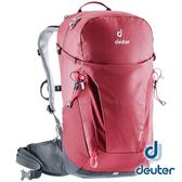 【德國 deuter】Trail 輕量拔熱 透氣背包 26L『紅』3440319 登山.露營.休閒.旅遊.戶外.後背包.雙肩背包