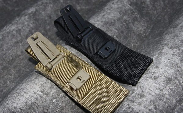 【molle系統】molle系統專用連接扣 尼龍材質織帶扣