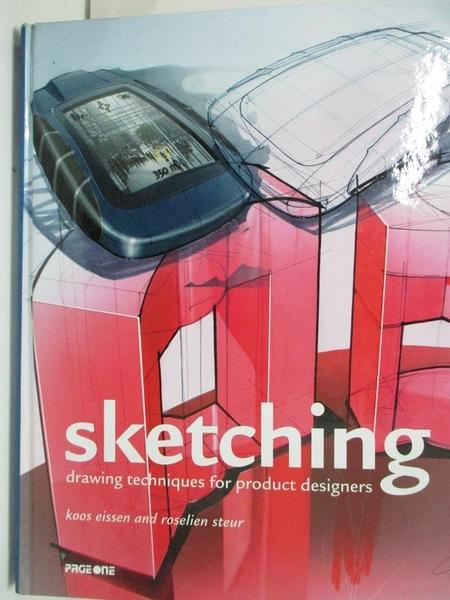 【書寶二手書T1/設計_DSC】Sketching-Drawing Techniques for Product Designers_KOOS EISSEN