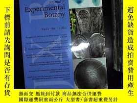 二手書博民逛書店journal罕見of experimental botany