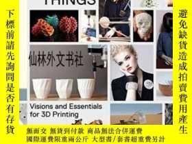 二手書博民逛書店【罕見】Printing Things:Visions And