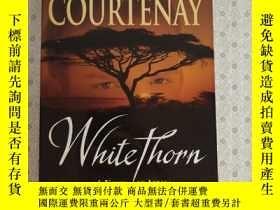 二手書博民逛書店16開英文原版罕見White Thorn : A Novel o