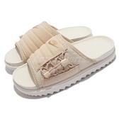 Nike 拖鞋 Wmns Asuna Slide 奶茶 鋸齒鞋底 女鞋 涼拖鞋 【ACS】 CI8799-200