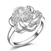 925純銀戒指 鑲鑽-獨特吸晴生日情人節禮物女配件73aq51【巴黎精品】