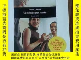 二手書博民逛書店COMMUNICATION罕見WORKSY396538 Gamble Mc Graw Hill Educati